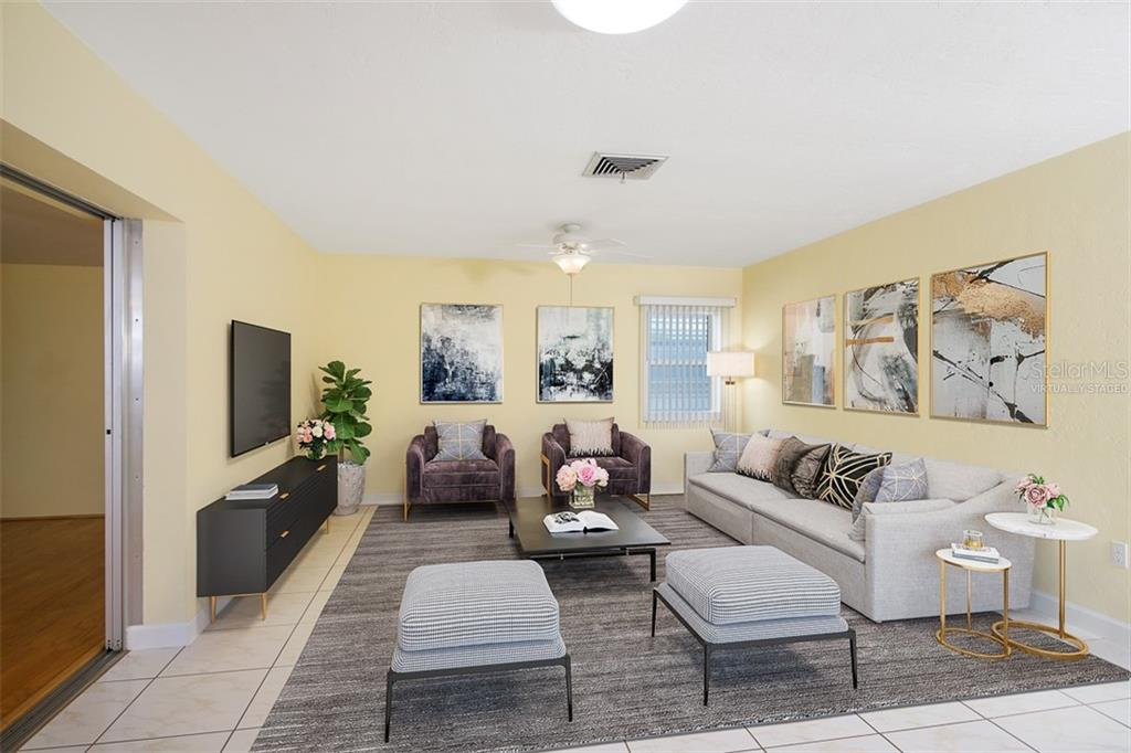 Virtually Staged - Single Family Home for sale at 2327 Terry Ln, Sarasota, FL 34231 - MLS Number is N6106643