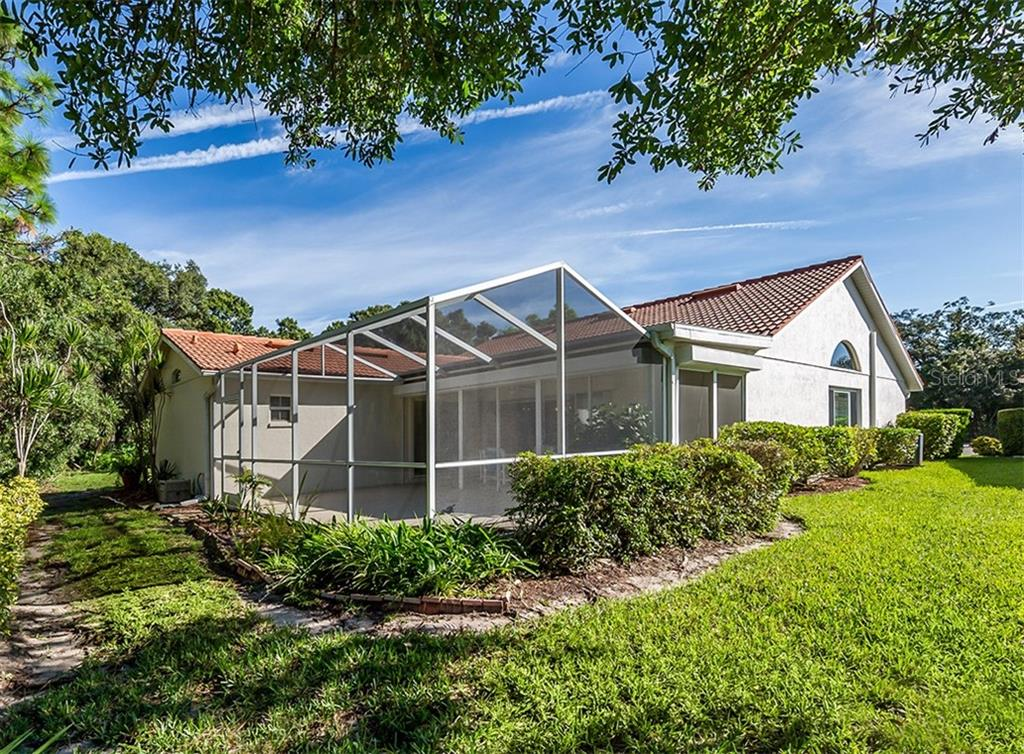 Rear exterior - Single Family Home for sale at 4822 Limetree Ln, Venice, FL 34293 - MLS Number is N6106780