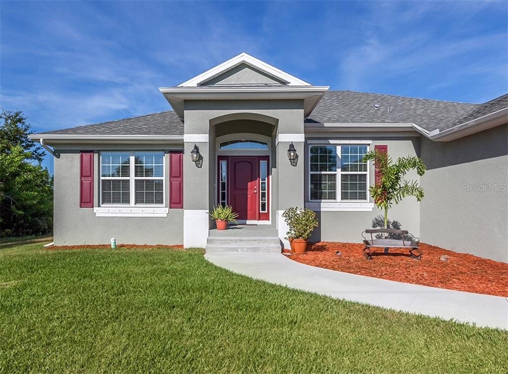 Front entry - Single Family Home for sale at 10449 Redondo St, Port Charlotte, FL 33981 - MLS Number is N6107406