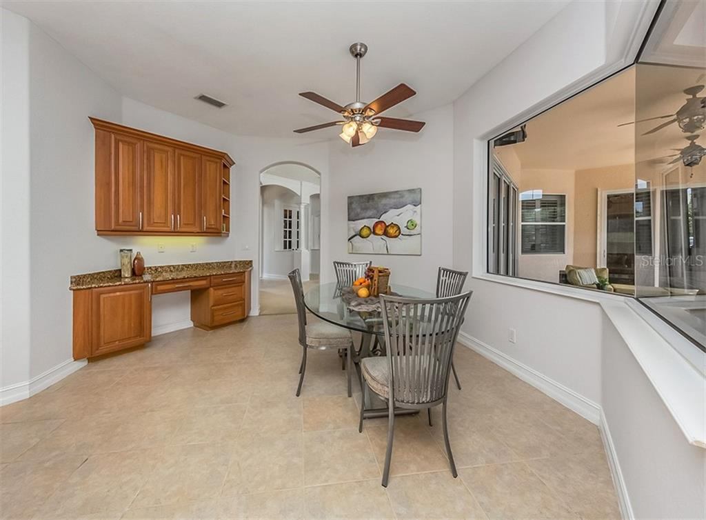 Dinette - Single Family Home for sale at 262 Pesaro Dr, North Venice, FL 34275 - MLS Number is N6107589