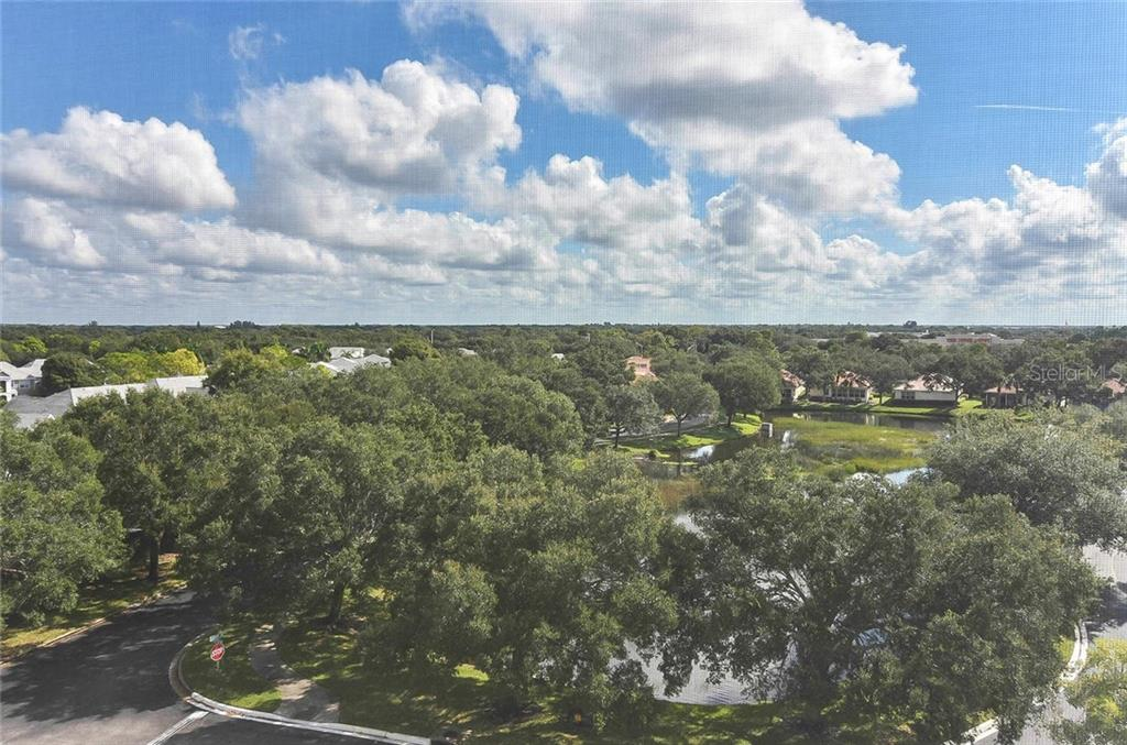 View from balcony - Condo for sale at 3730 Cadbury Cir #614, Venice, FL 34293 - MLS Number is N6107624