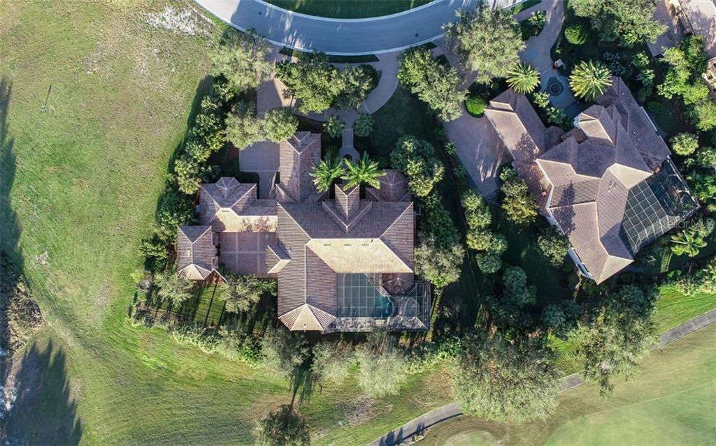 Aerial - Single Family Home for sale at 8257 Archers Ct, Sarasota, FL 34240 - MLS Number is N6109007