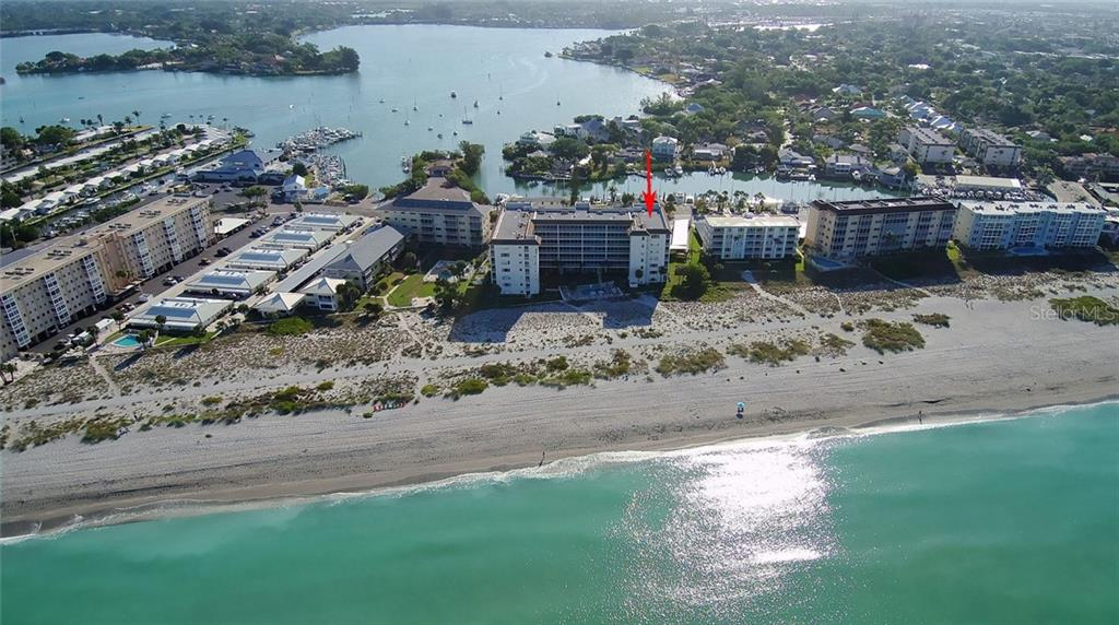 Aerial - Condo for sale at 1150 Tarpon Center Dr #303, Venice, FL 34285 - MLS Number is N6110126