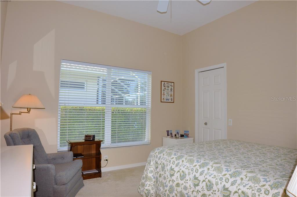 Bedroom 2 - Single Family Home for sale at 413 Pebble Creek Ct, Venice, FL 34285 - MLS Number is N6110166
