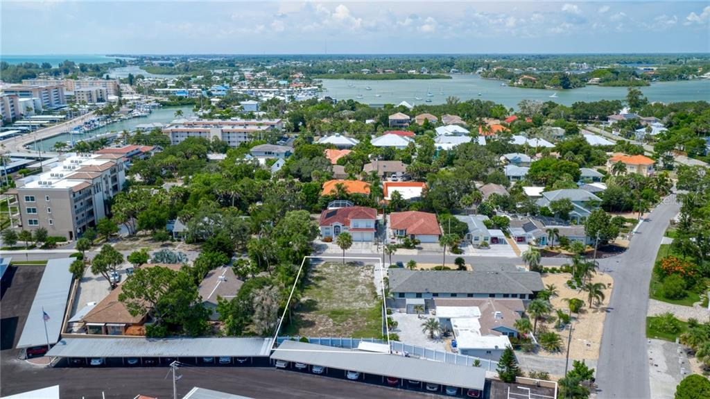 Aerial - Vacant Land for sale at 805 Ormond St, Venice, FL 34285 - MLS Number is N6110926