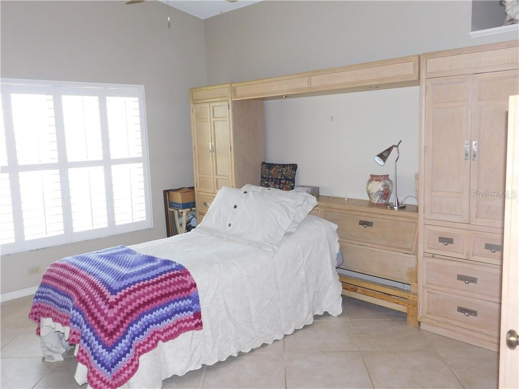 Master Bedroom - Villa for sale at 743 Harrington Lake Dr N #29, Venice, FL 34293 - MLS Number is N6111290