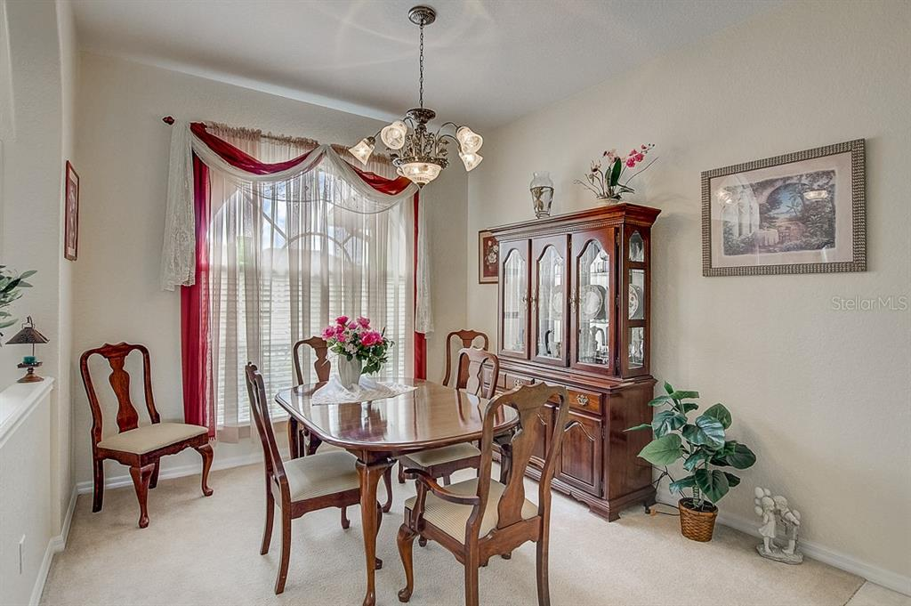 Dining room - Single Family Home for sale at 1031 Scherer Way, Osprey, FL 34229 - MLS Number is N6111839