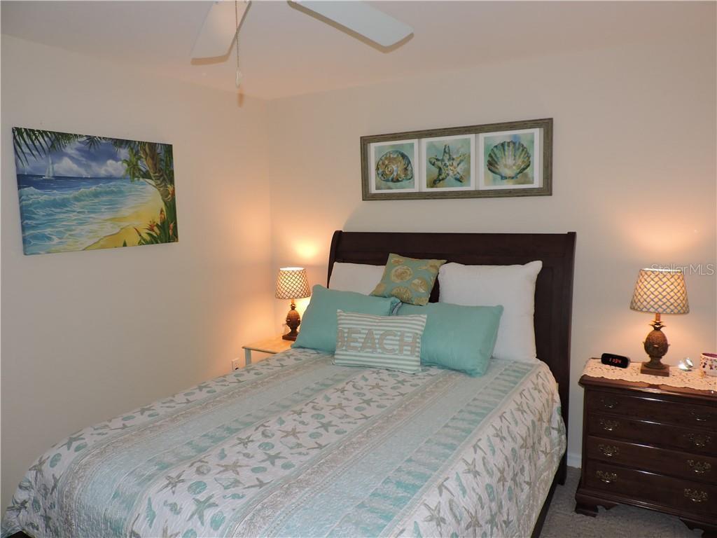 Guest Bedroom #1 - Condo for sale at 1041 Capri Isles Blvd #121, Venice, FL 34292 - MLS Number is N6112042