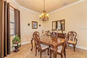 Formal dining area - Single Family Home for sale at 20145 Cristoforo Pl, Venice, FL 34293 - MLS Number is N6100537
