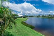 Lakefront View - Single Family Home for sale at 368 Marsh Creek Rd, Venice, FL 34292 - MLS Number is N6101204