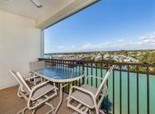 View of the Intracoastal Waterway from the lanai - Condo for sale at 147 Tampa Ave E #902, Venice, FL 34285 - MLS Number is N6104823
