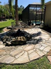 Fire pit - Single Family Home for sale at 19694 Cobblestone Cir, Venice, FL 34292 - MLS Number is N6109367