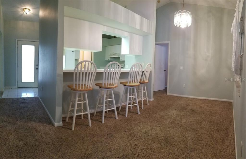 Dining Room - Single Family Home for sale at 236 Cougar Way, Rotonda West, FL 33947 - MLS Number is D6108834