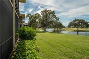 Rear Exterior - Condo for sale at 7070 Fairway Bend Ln #169, Sarasota, FL 34243 - MLS Number is W7807848