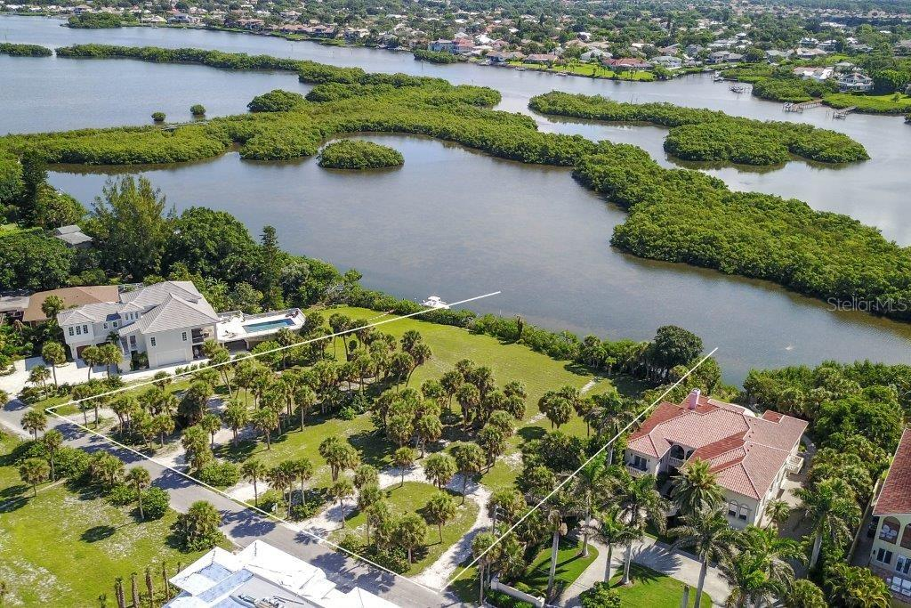 267' frontage, 219' deep on south side of lot. - Vacant Land for sale at 3000 Casey Key Rd, Nokomis, FL 34275 - MLS Number is A4190389