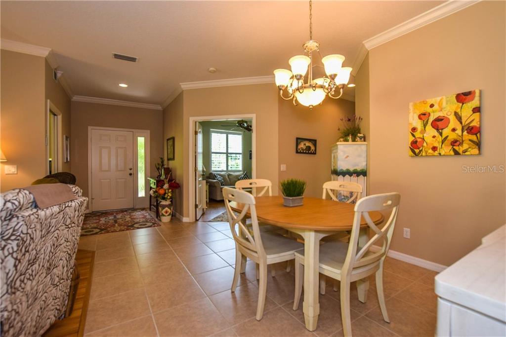Dining Room To Den And Foyer