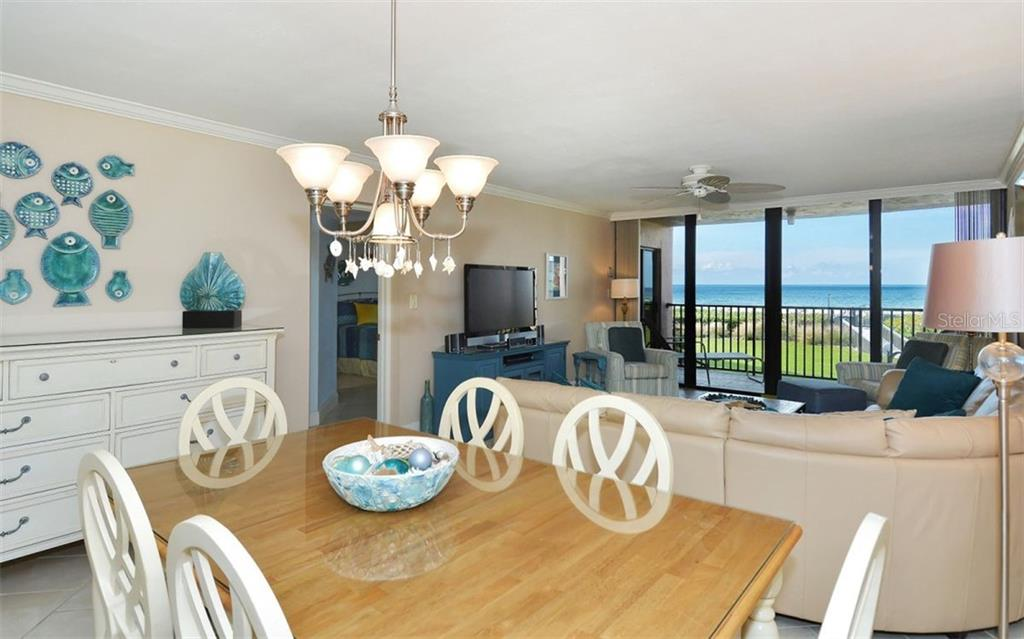Living/Dining room - Condo for sale at 6480 Midnight Pass Rd #217, Sarasota, FL 34242 - MLS Number is A4202790
