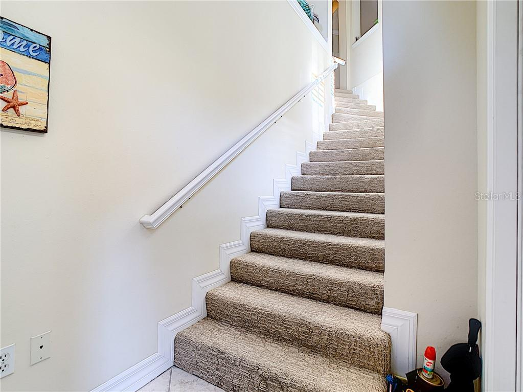 Entryway Staircase. - Condo for sale at 9453 Discovery Ter #201c, Bradenton, FL 34212 - MLS Number is A4423314
