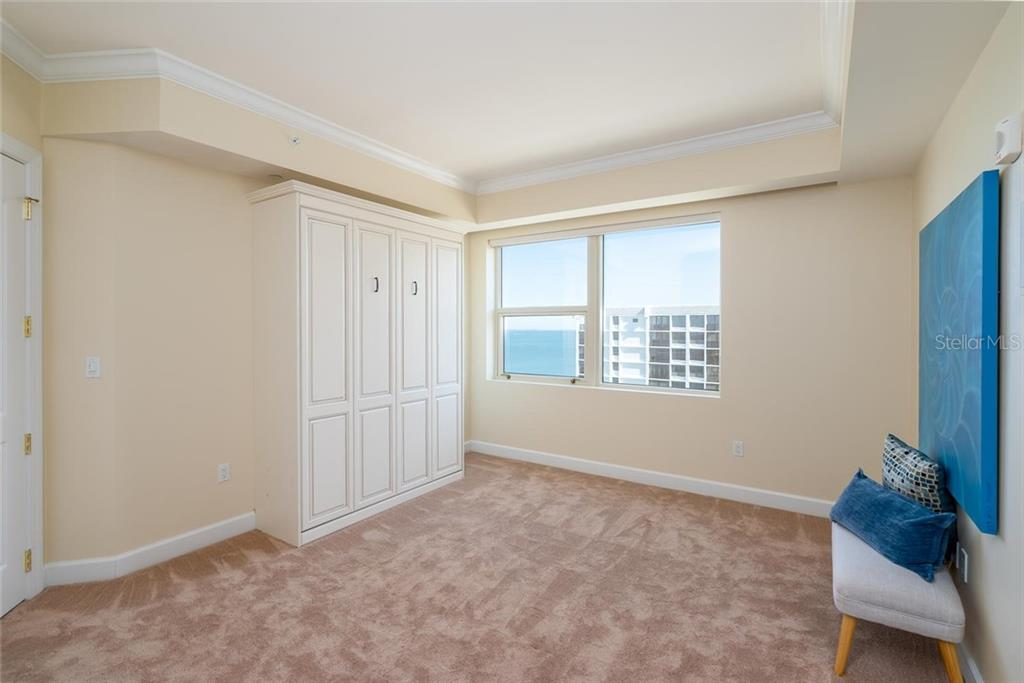 Guest Bedroom #2 with a private ensuite! - Condo for sale at 128 Golden Gate Pt #902a, Sarasota, FL 34236 - MLS Number is A4433296