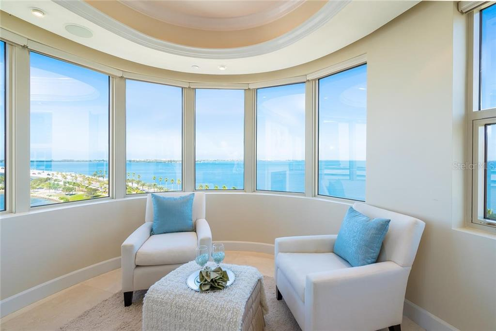 Great views of all the incredible events that take place on Ringling Bridge, watch boats cruise and the Pelicans & Osprey fly right in front of your windows! - Condo for sale at 128 Golden Gate Pt #902a, Sarasota, FL 34236 - MLS Number is A4433296