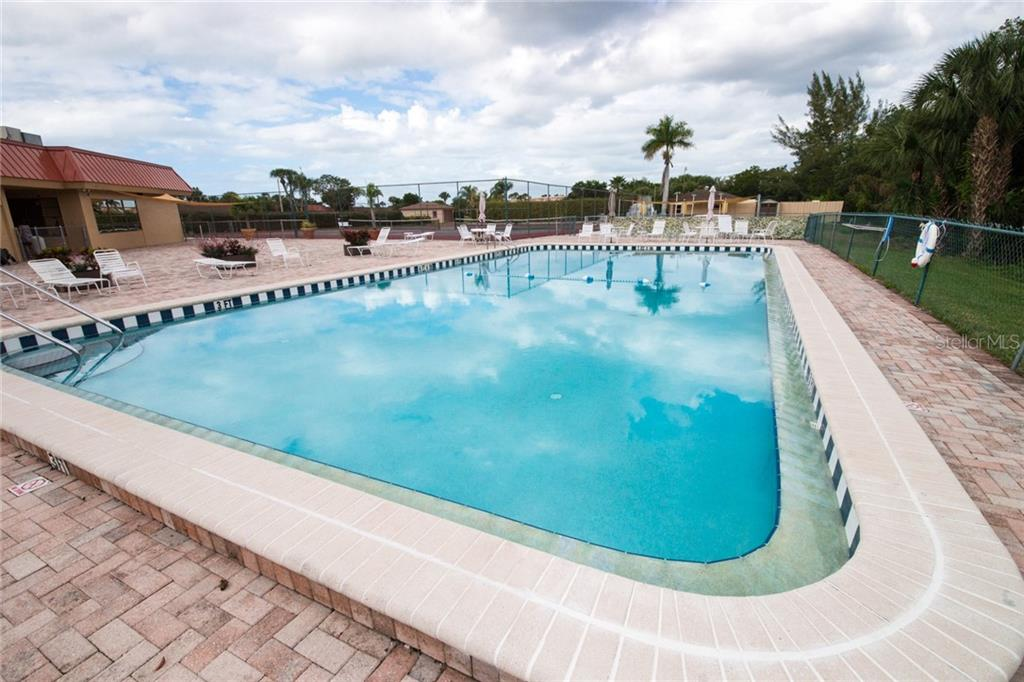 Large patio. - Condo for sale at 4001 Catalina Dr, Bradenton, FL 34210 - MLS Number is A4443126