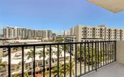 View from the Balcony - Condo for sale at 101 S Gulfstream Ave #10e, Sarasota, FL 34236 - MLS Number is A4411807