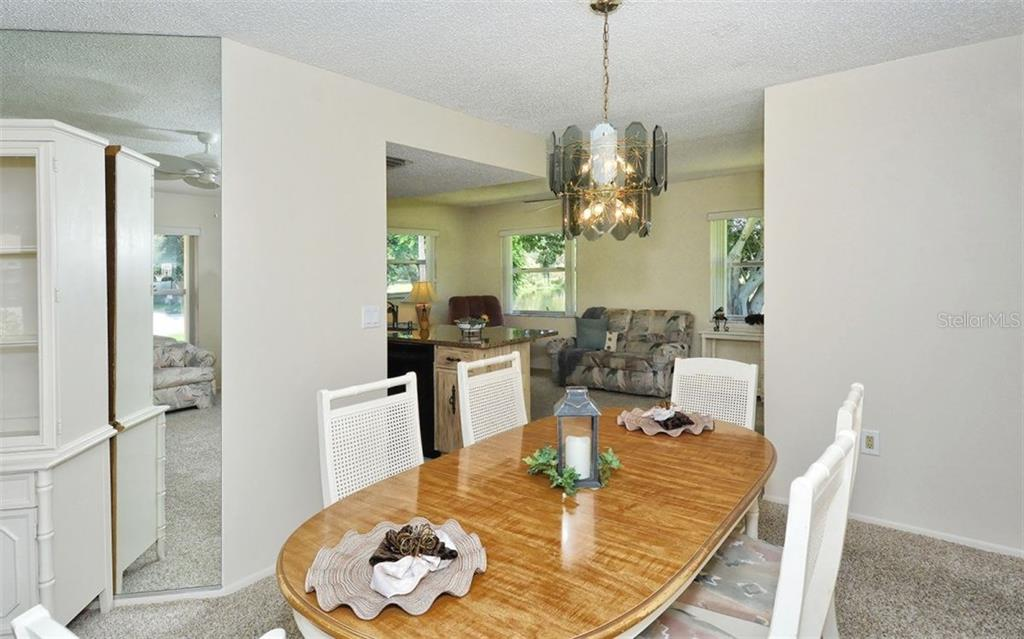 Dining Room To Kitchen And Family